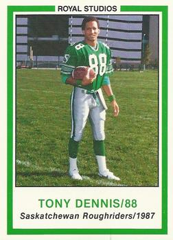 Dennis played seven years in the CFL with Saskatchewan, Calgary and British Columbia after a record-setting collegiate career at Simon Fraser University