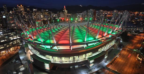 Xmas stadium